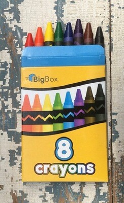 Crayons 8 count