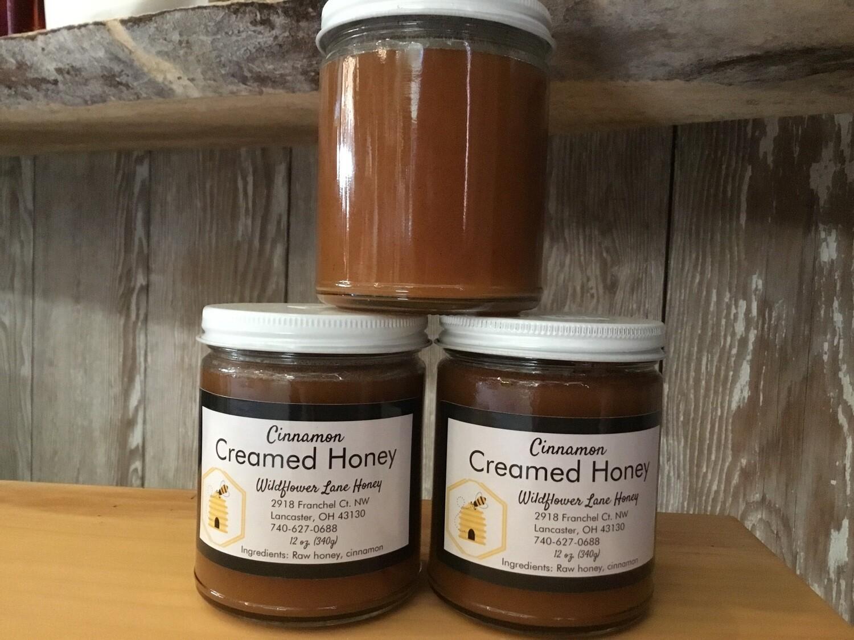 Wildflower Lane Cinnamon Creamed Honey (12 oz) $12.00