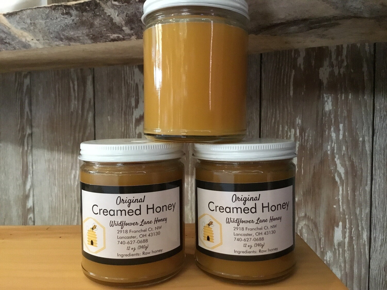 Wildflower Lane Original Creamed Honey (12 oz) $11.00