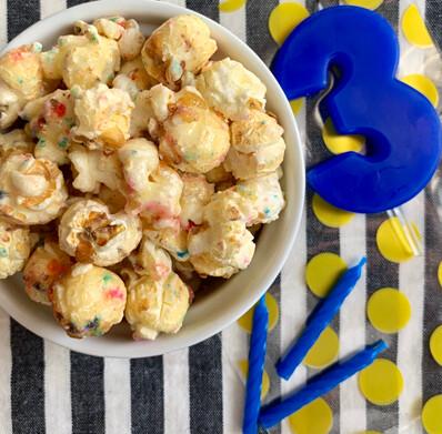 Popcorn Birthday Cake $7.00