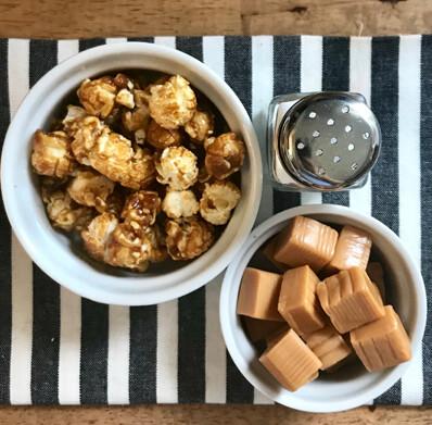 Popcorn Salty Caramel $7.00
