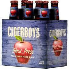 Cider Boys First Press (6 Pack) BOTTLES