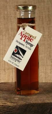 Syrup Caramel Apple (8 oz) $8.95