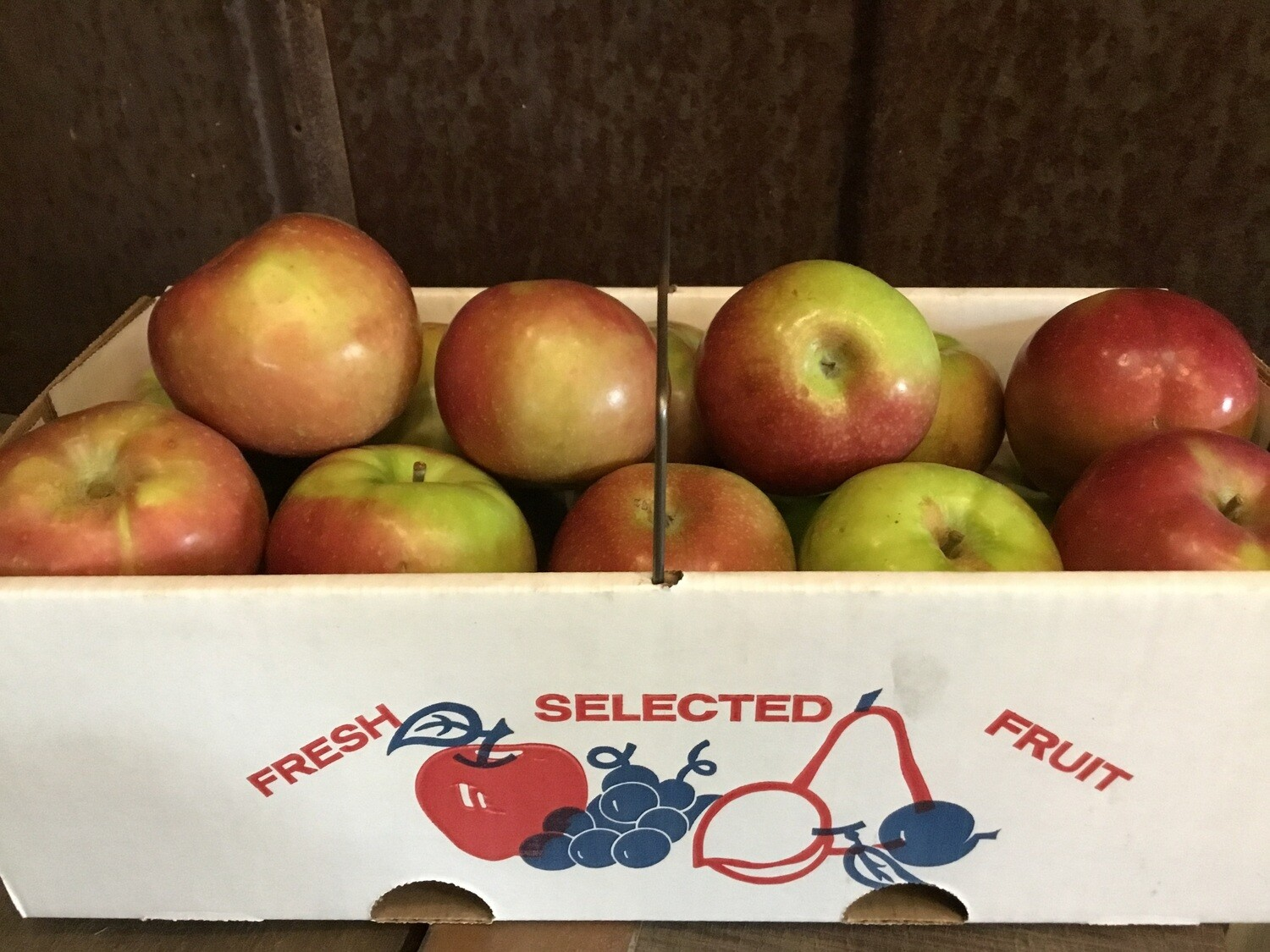 Apples Peck box $16 (produce)
