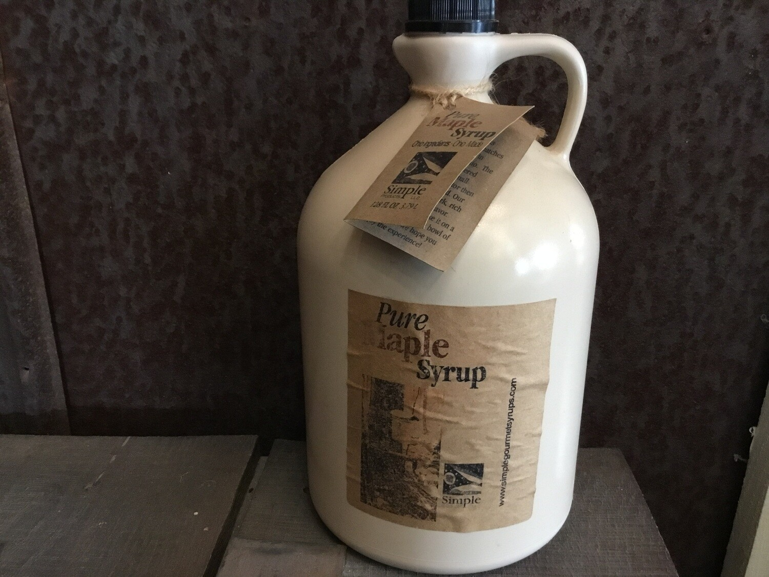 Syrup Pure Maple 128 oz