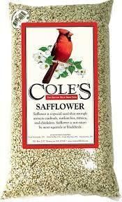 Safflower Bird Seed (5 lb bag) $12.99