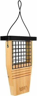 Natures Way Cedar Suet Bird Feeder with Tail Prop $19.99