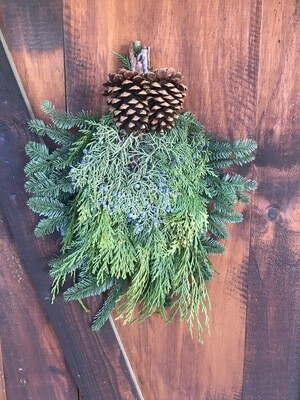 Swag (Evergreen Bunch w/ Manzanita) $16.99 -Holiday
