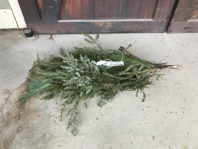Mixed Greens/Pine (Small Bunch) $12.99 -Holiday