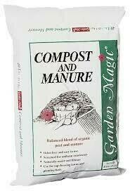 Bag Compost/Cow Manure (.75 cu ft) $6.99