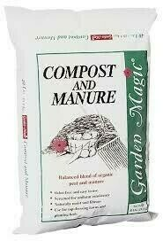Bag Compost/Cow Manure (.75 cu ft) $6.99