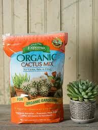 Cactus Mix Espoma Organic (4 quart bag) $7.99