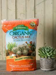 Cactus Mix Espoma Organic (4 quart bag) $7.99
