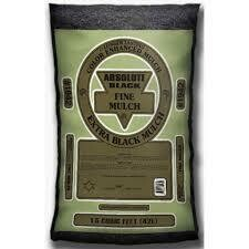 Bag BLACK FINES Mulch (1.5 cu ft bag) Triple Shredded
