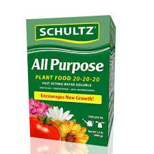 Schultz All Purpose 20-20-20 Plant Food (5 lb) $23.99