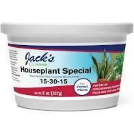 Jacks House Plant Fertilizer (8 oz) $9.99