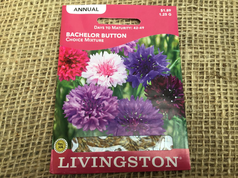 Bachelor Button (Seed) $1.89