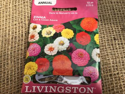 Zinnia Cut & Come Again (Seed)