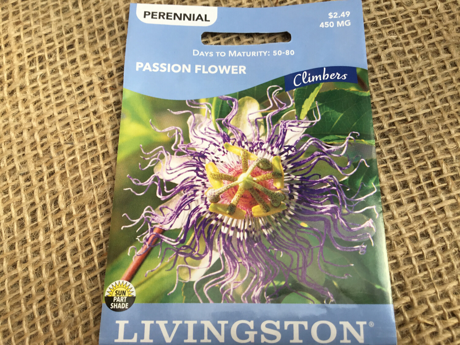 Passion Flower (Seed) $2.49