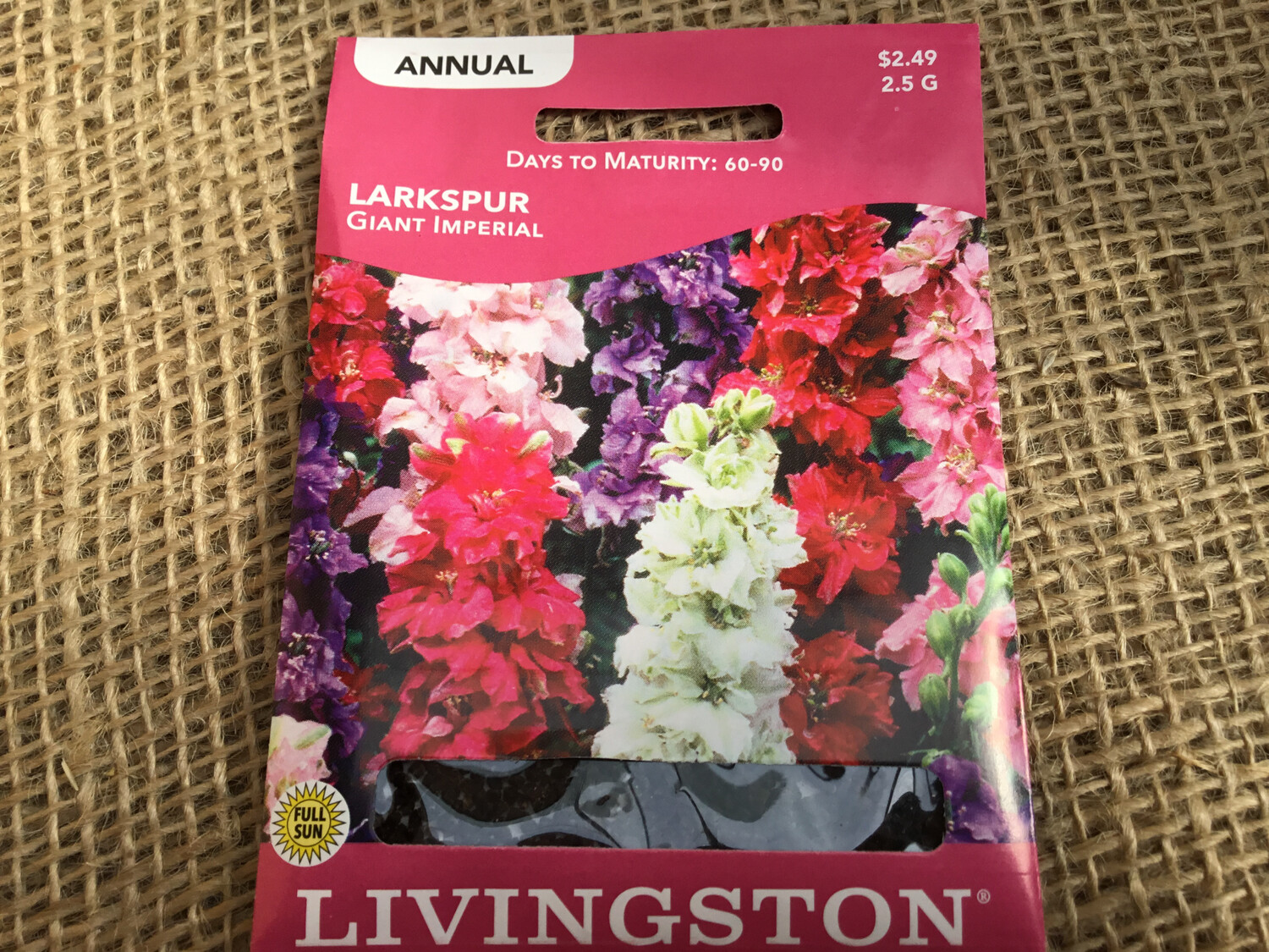 Larkspur Giant Imperial (Seed) $2.49