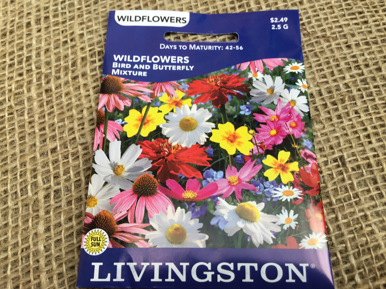 Wildflower Bird & Butterfly Mix (Seed) $2.49