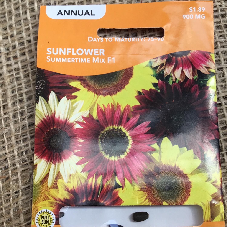 Sunflower Summertime Mix (Seed) $1.89
