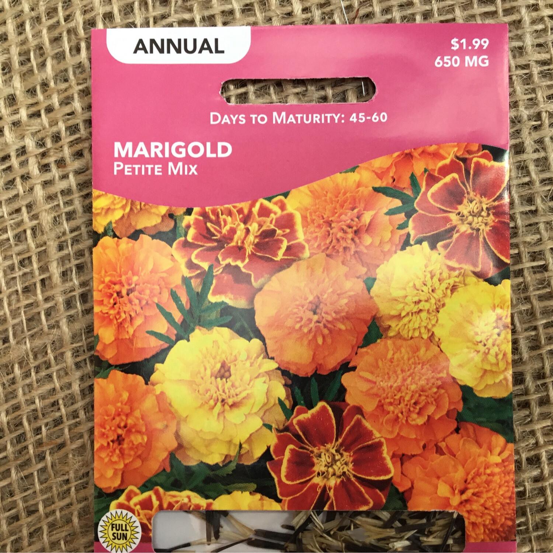 Marigold Petite (Seed) $1.99