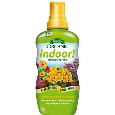 Organic Indoor Houseplant Food Espoma (8 oz) $9.99