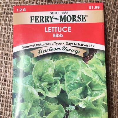 Lettuce Bibb (Seed) $1.99