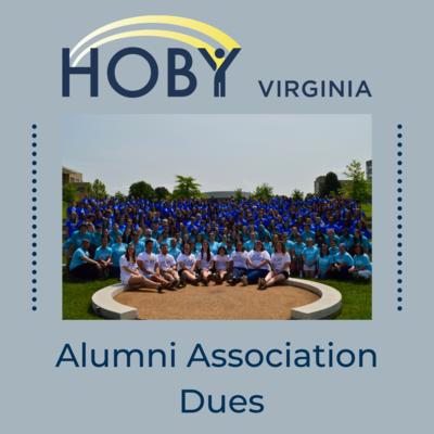 HOBY Virginia Alumni Association Dues