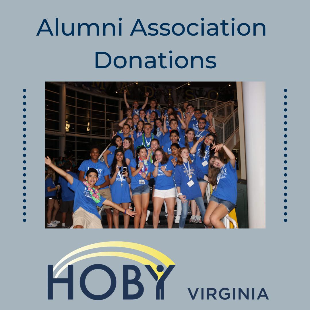 HOBY Virginia Alumni Association Donations