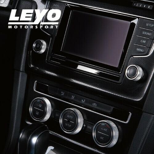 LEYO Motorsport Infotaiment Alu Rings VW 5 Stück