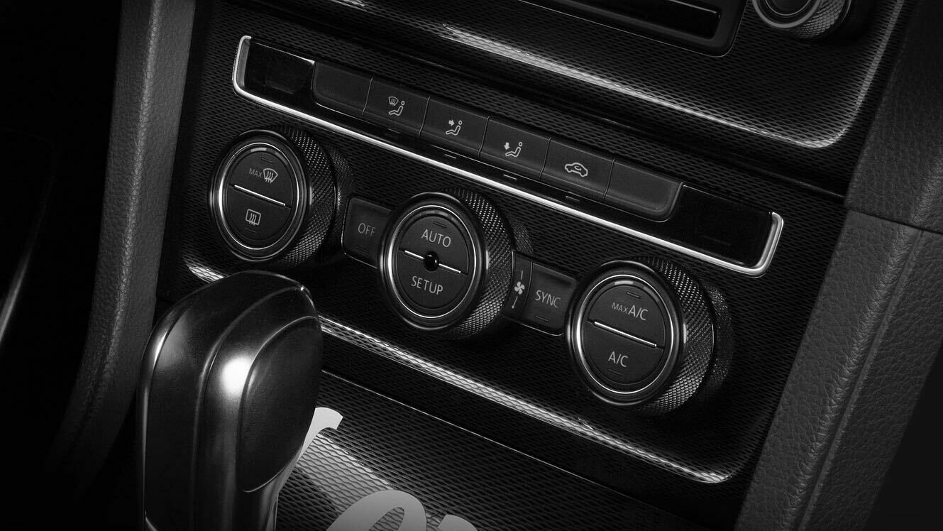 LEYO Motorsport Infotaiment Black Alu Rings VW 3 Stück Touchscreen
