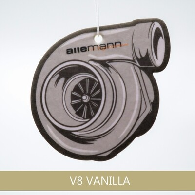Allemann Turbo Duftbaum Air Freshener Vanilla
