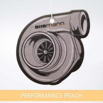 Allemann Turbo Duftbaum Air Freshener Peach