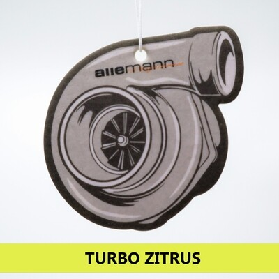 Allemann Turbo Duftbaum Air Freshener Citrus
