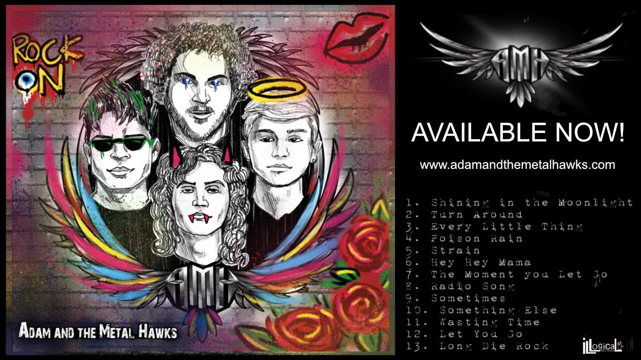 Adam and the Metal Hawks CD Plus Digital Download - US SHIPPING