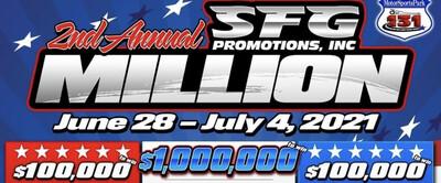 January 13 - SuperBowl Pool(4) Winners in JEGS SFG Million Full Weekend