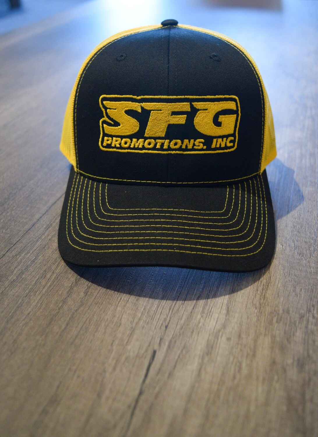 Official SFG Yellow/Black Mesh Hat
