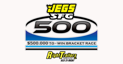 April 16 - Raffle #2021-47(2) Winners in JEGS SFG 500 Main Event