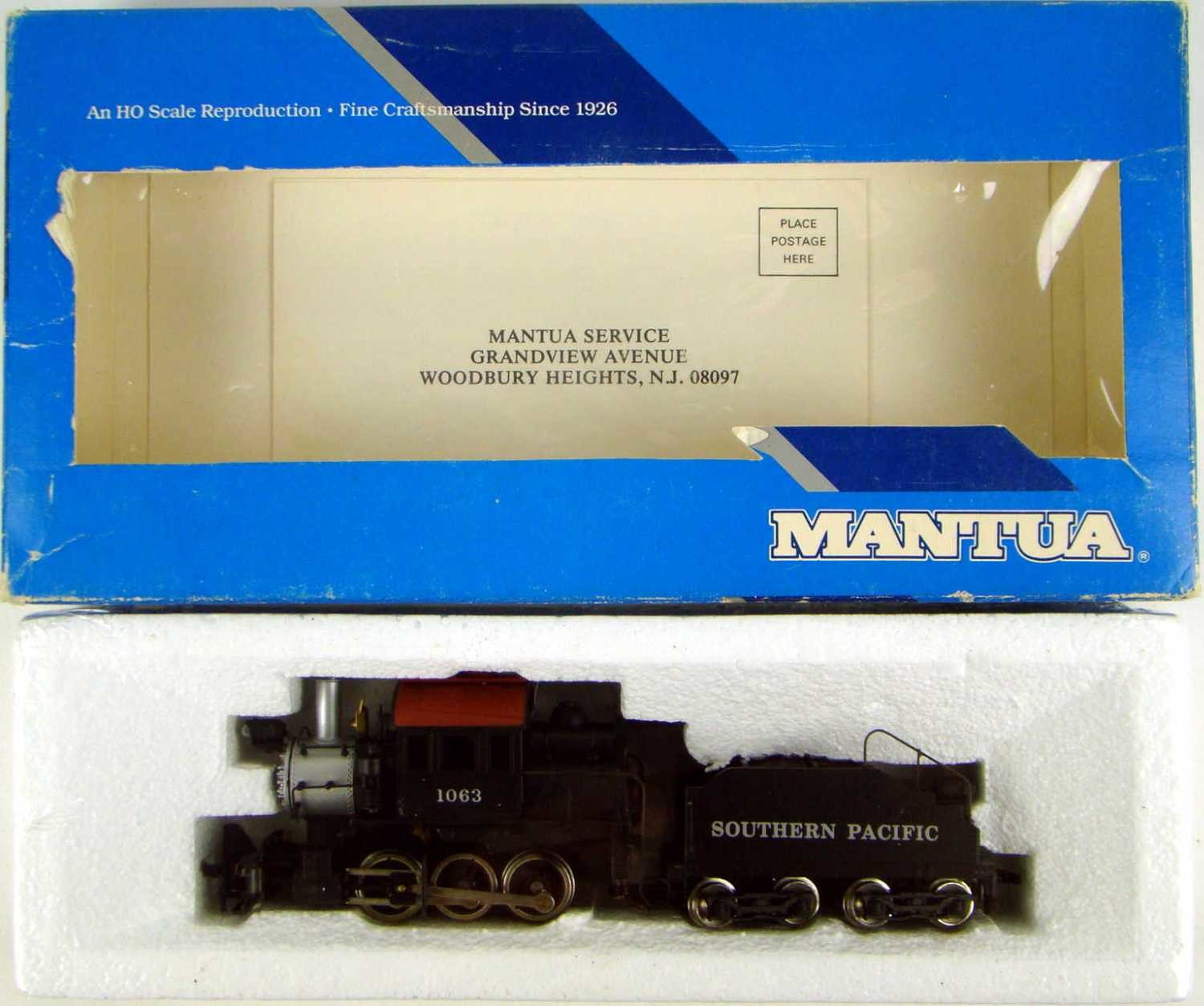 FACTORY SEALED Mantua 339-001 SP 0-6-0 B7a Goat Camelback Switcher HO Scale