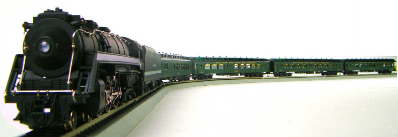 MRRHQ Custom Premier NYNH&H Palace Passenger Set w/I-5 Class 4-6-4 Hudson Locomotive #1400 HO Scale
