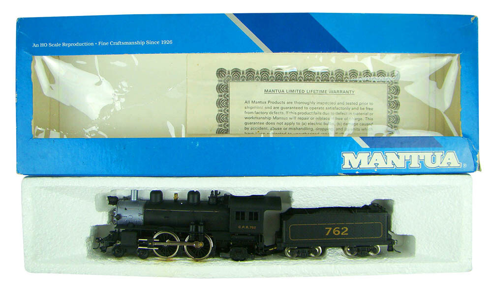 Mantua 336-080 Canadian Pacific 4-4-2 Atlantic Locomotive HO Scale