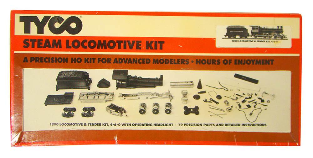 FACTORY SEALED Tyco 233-7706 4-6-0 Ten Wheeler Locomotive Kit HO Scale