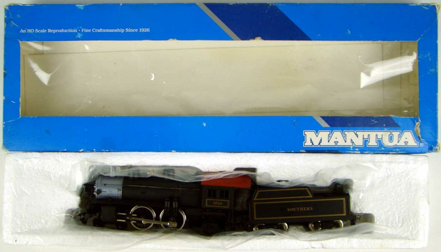 Mantua 336-040 Southern 4-4-2 Atlantic Locomotive HO Scale