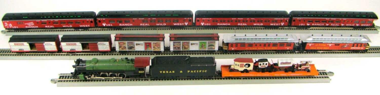 MRRHQ Custom Premium 101 Ranch Wild West Show Train Set HO Scale