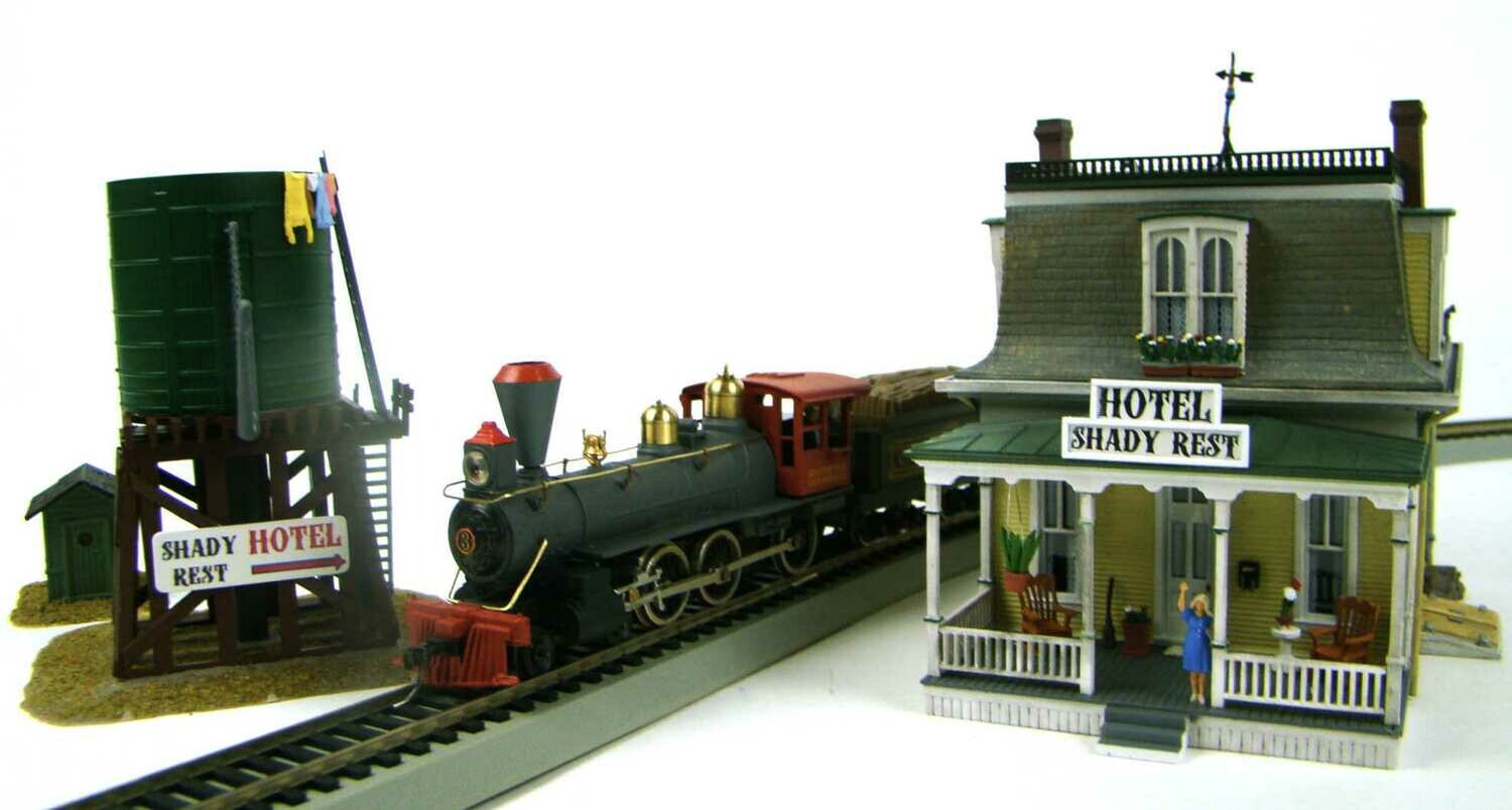 MRRHQ Custom Petticoat Junction Train and Structure Set HO Scale