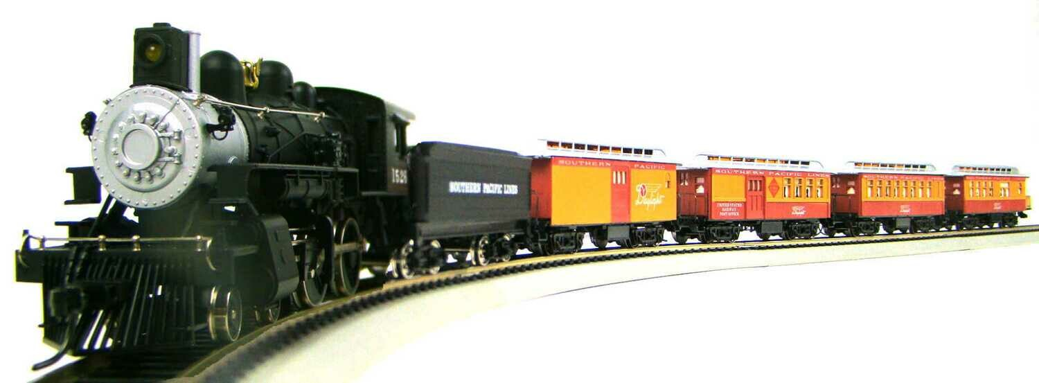 MRRHQ Custom Limited Edition IHC/Roundhouse 1890s SP Daylight Overton Passenger Train Set HO Scale