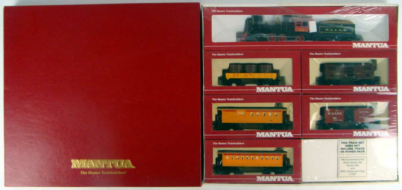 FACTORY SEALED Mantua 935-391 W&ARR SPECIAL 1860s Train Set HO Scale