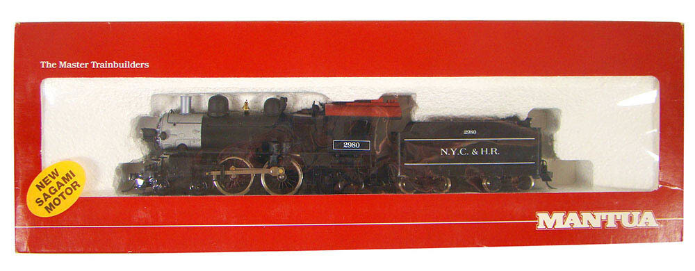 FACTORY SEALED Mantua 357-022 NYC&HR 4-4-2 Atlantic Locomotive HO Scale